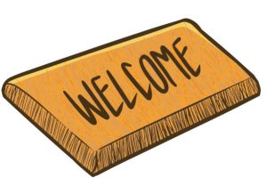 Welcome mat clipart 7 » Clipart Station.