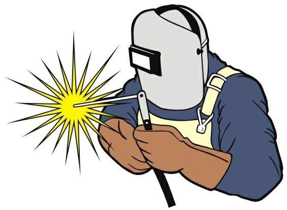 clipart man welding #90.