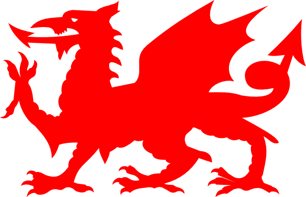 Welsh Red Dragon Clip Art at Clker.com.
