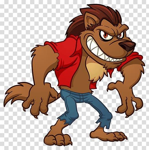 Werewolf , werewolf transparent background PNG clipart.