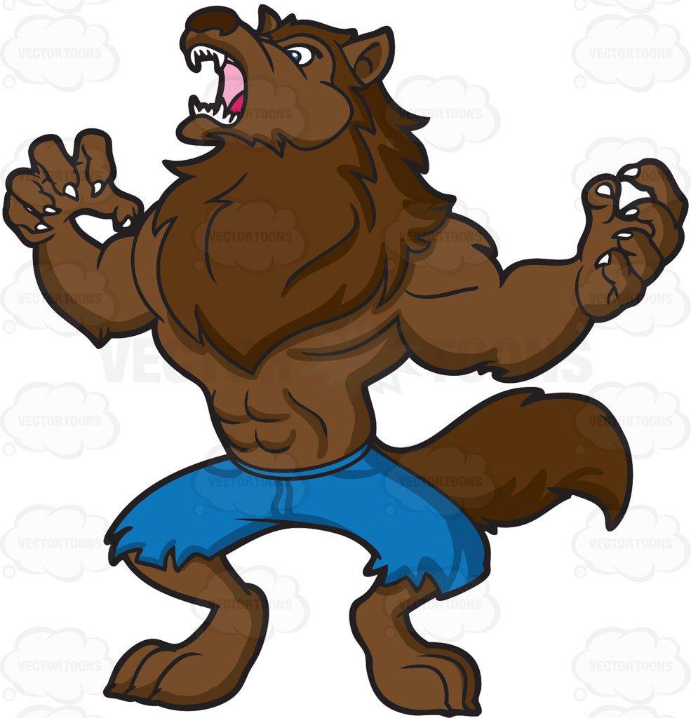 Werewolf clipart 4 » Clipart Station.