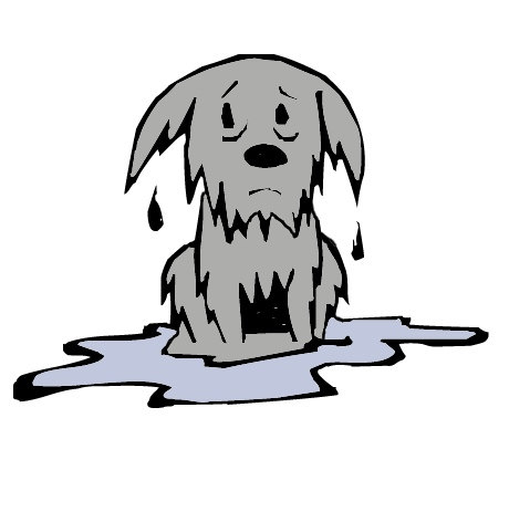 710 Wet free clipart.