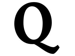 What does the Q stand for?.