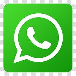 Flat Gradient Social Media Icons, Whatsapp_xx, WhatsApp logo.