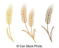 2350 Wheat free clipart.