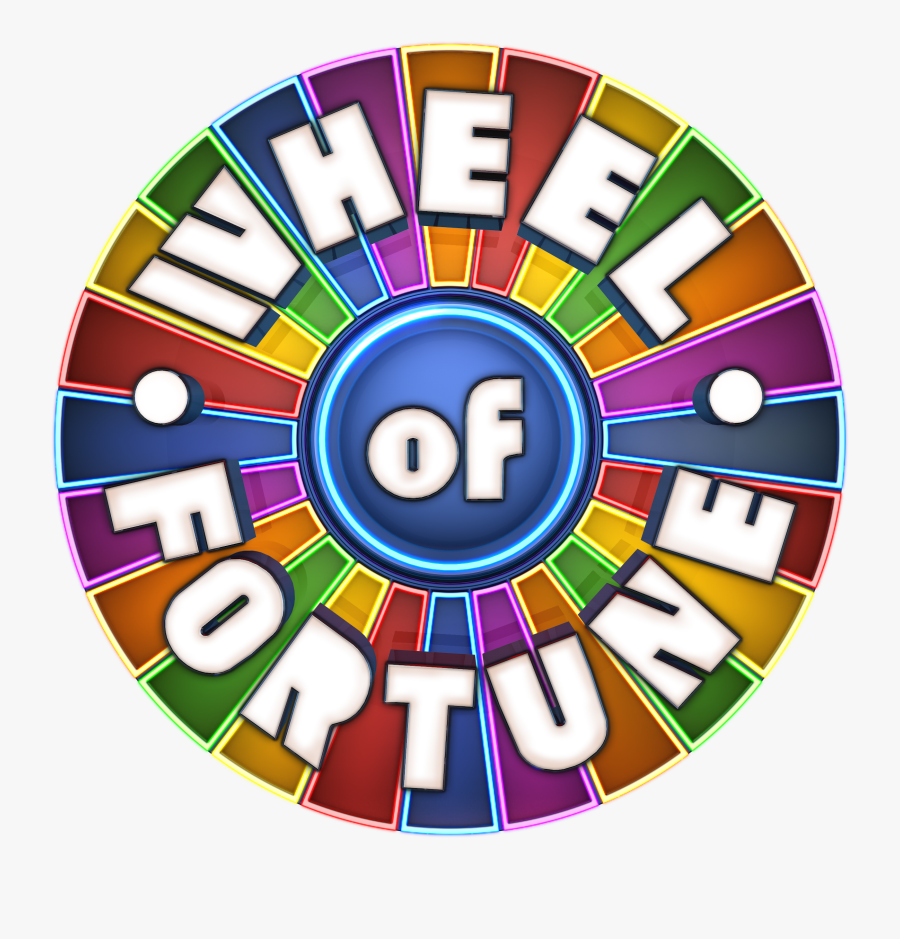 Transparent Wheel Of Fortune Logo Png.