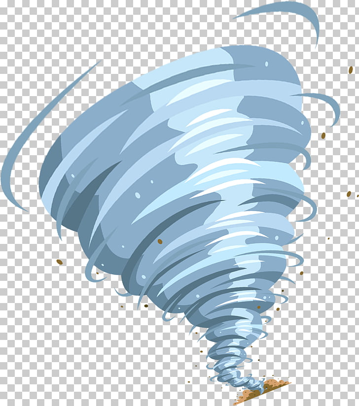 Cartoon Tornado , Grey cartoon tornado, whirlwind.