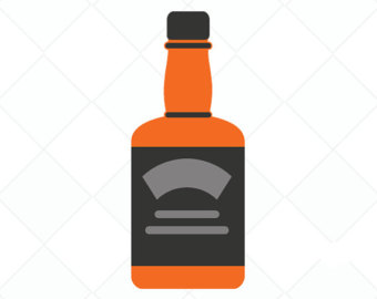 Whiskey Bottle Clipart.