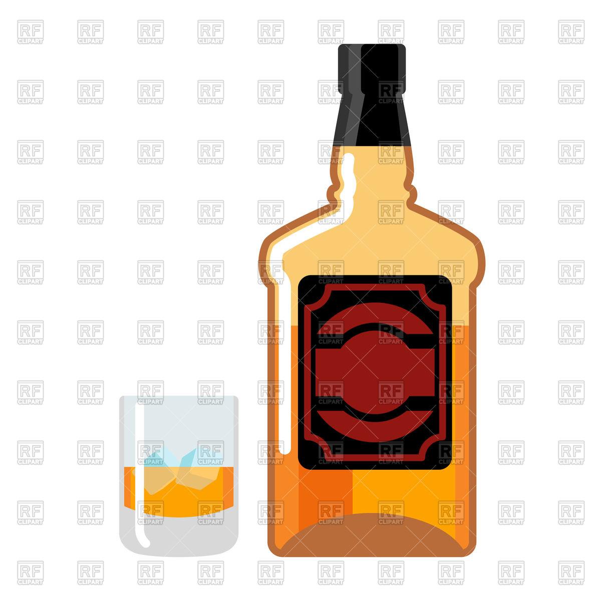 Whiskey bottle clipart 5 » Clipart Station.