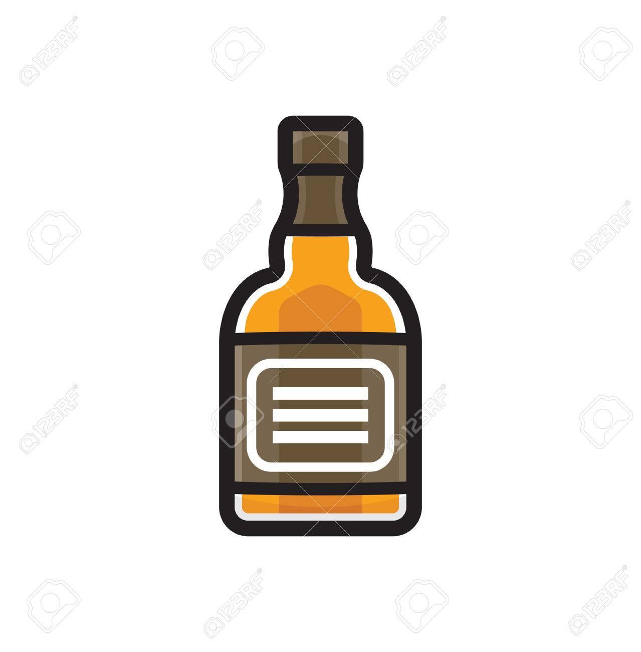 Whiskey bottle clipart 6 » Clipart Station.
