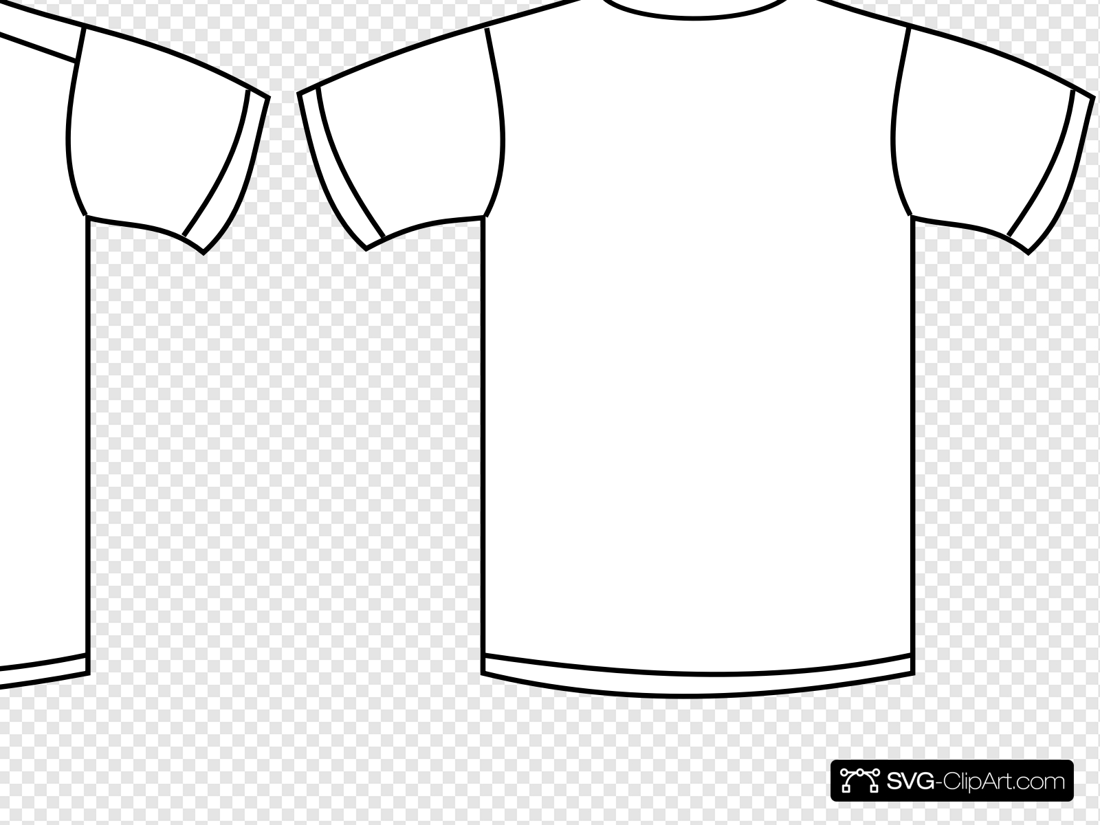 White Shirt Clip art, Icon and SVG.