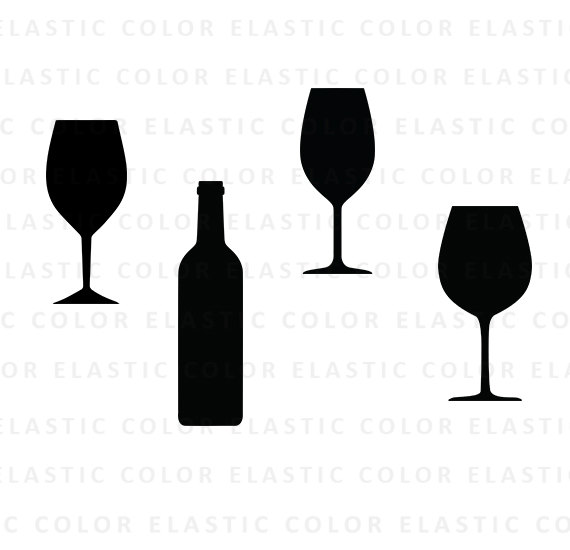 Wine glass svg.
