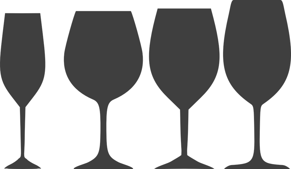 Free vector graphic: Glasses, Wine, Drink, Alcohol.