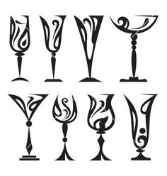 Wine glass vector 88799.
