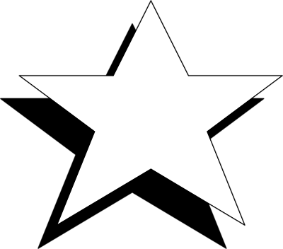 Free White Star, Download Free Clip Art, Free Clip Art on.