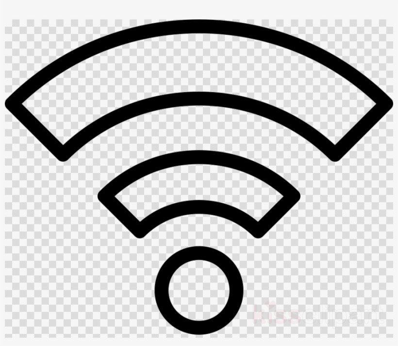 Wifi Symbol White Png Clipart Wi.