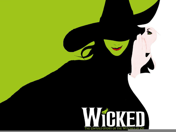 Wicked Musical Clipart.