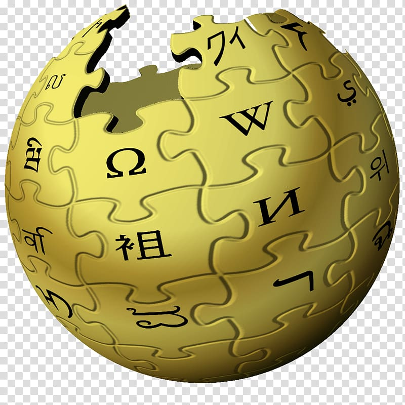 Wikipedia transparent background PNG clipart.