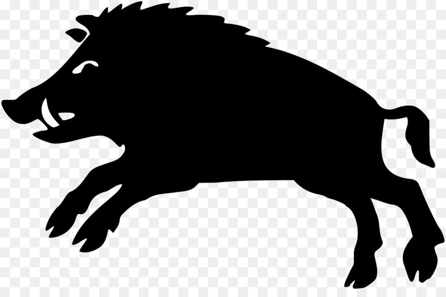 Download herb borzytuchom clipart Wild boar Clip art.