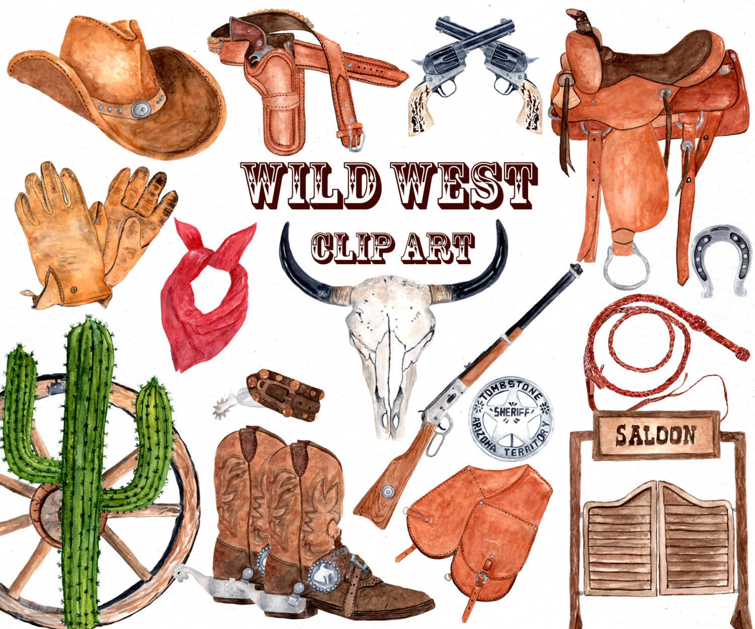 Boot clipart wild west, Boot wild west Transparent FREE for.