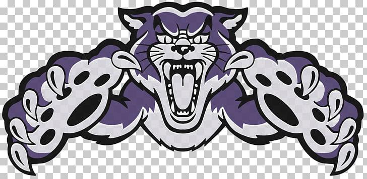 Wildcat Mascot , Cat PNG clipart.