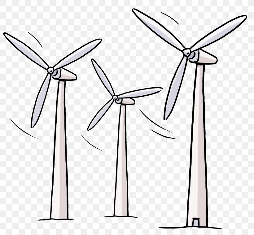 Wind Turbine Energy Wind Power Clip Art, PNG, 1981x1836px.