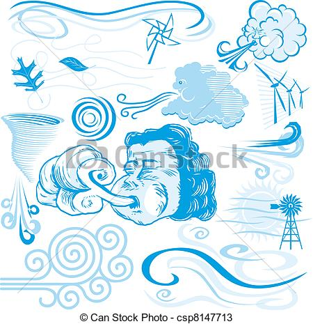 Vectors of Wind Collection.