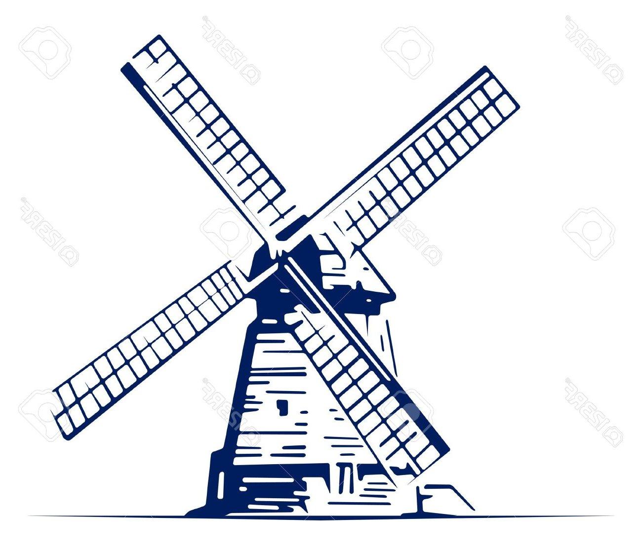 Windmill Clipart at GetDrawings.com.