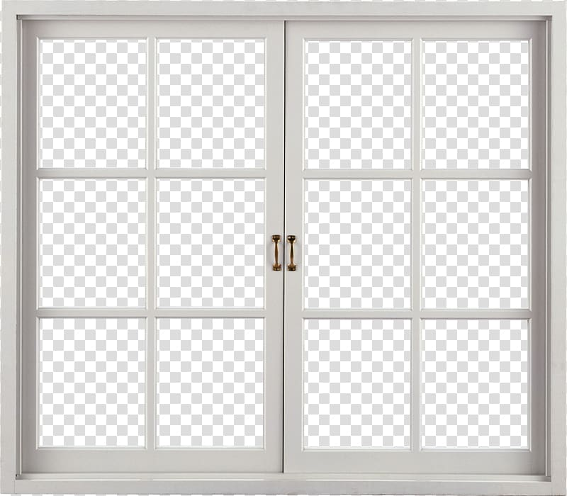 Window Door frame , Window , glass panel window with white frame.