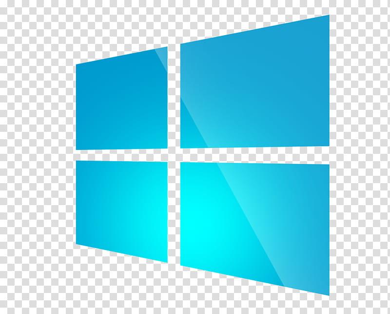 Windows stylist logo Sanbrons, Windows icon transparent background.