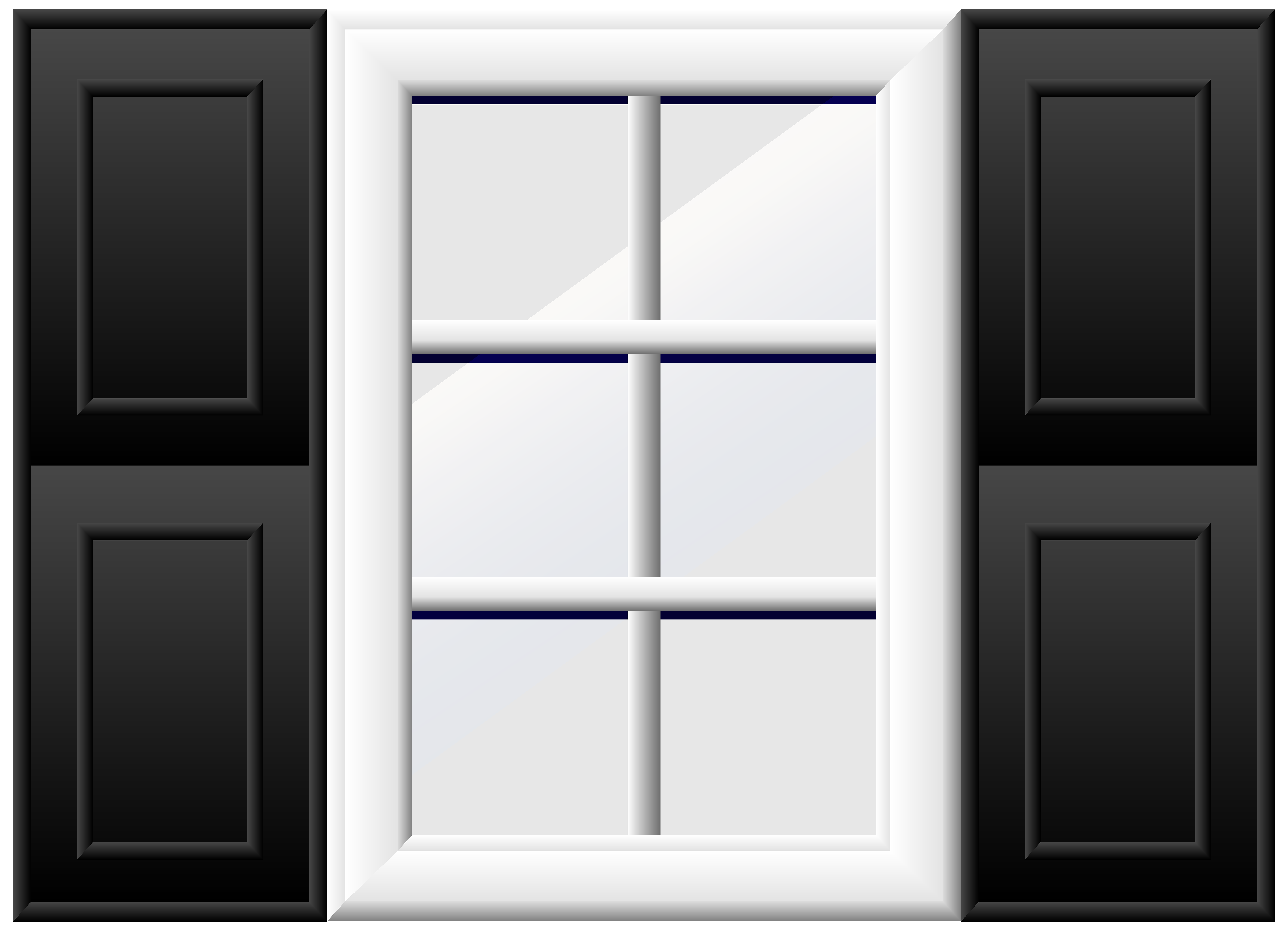 House Window PNG Clip Art.