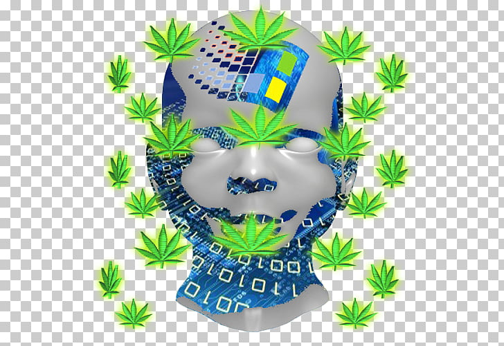 Hemp Windows 98 Cannabis, vaporwave symbol PNG clipart.