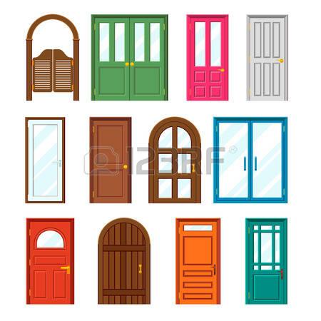 Door Design Clipart.