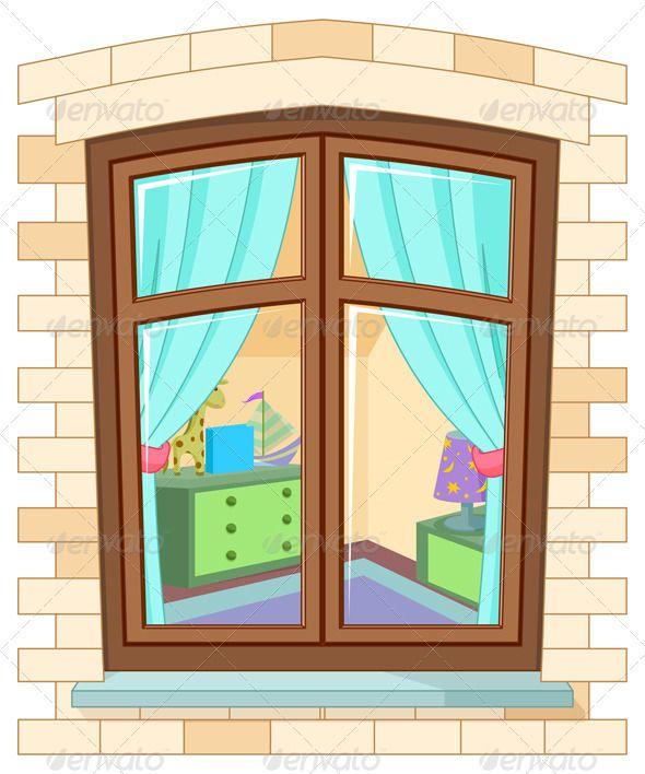Cartoon Window.