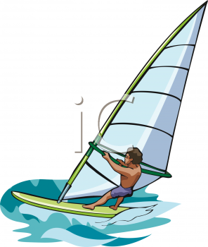 Windsurfing clipart 3 » Clipart Station.