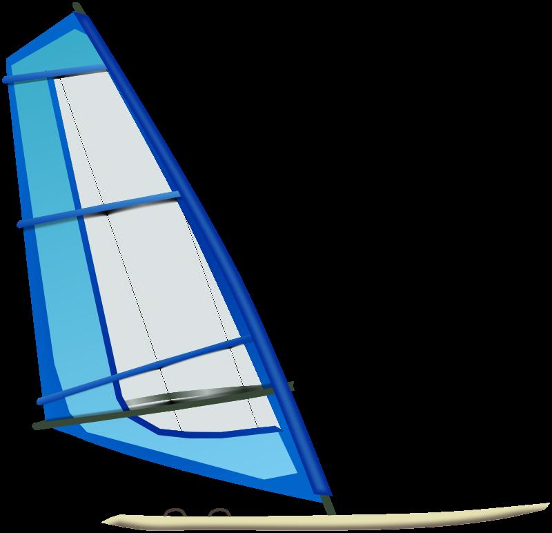 Free Clipart: Windsurfing.