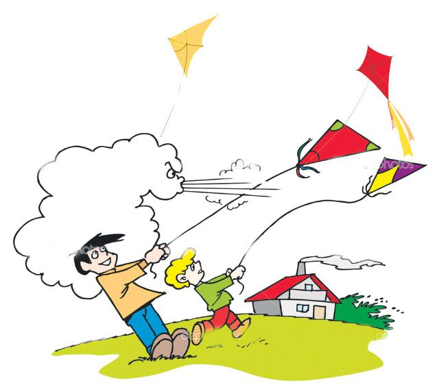 Wind clipart windy day #10.