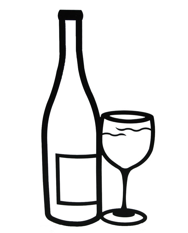 Free Wine Bottle And Glass, Download Free Clip Art, Free.