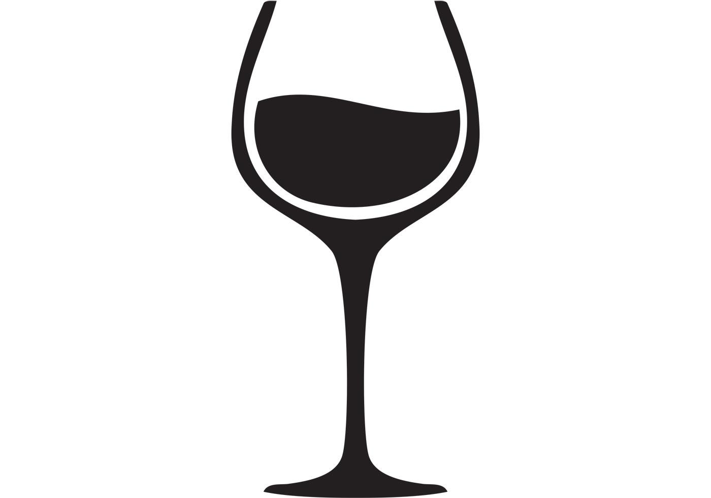 Free Wine Glass Silhouette Clip Art, Download Free Clip Art.