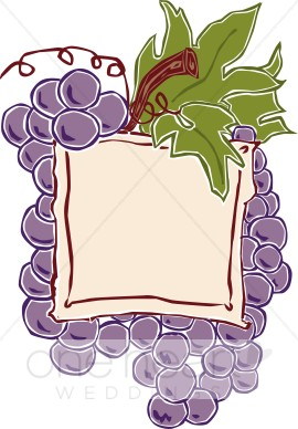 Wine Label Clipart.