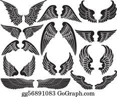 Angel Wings Clip Art.
