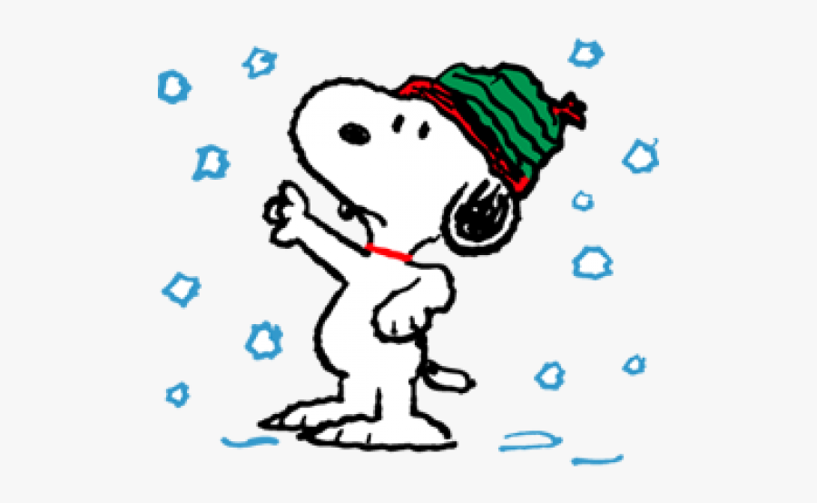 Snoopy Winter Cliparts.