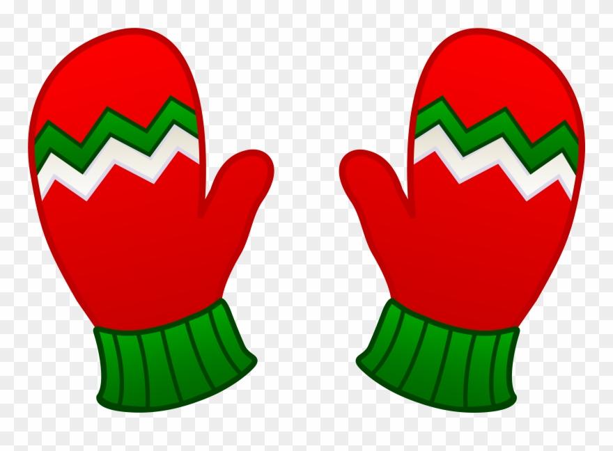 Free Clip Art Christmas Resume Kids Mittens.
