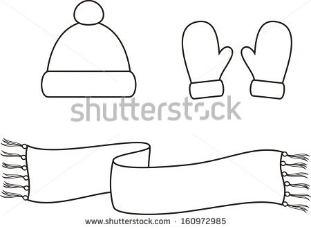 Winter Hat Vector Stock Photos, Royalty.