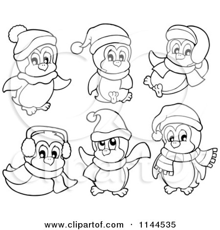 Cartoon of Blue Ear Muffs.