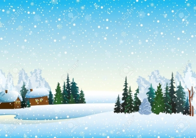 winter scenes , Free clipart download.