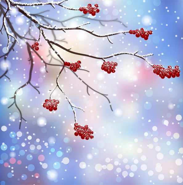 Free vector clip art winter scene free vector download (210,752.