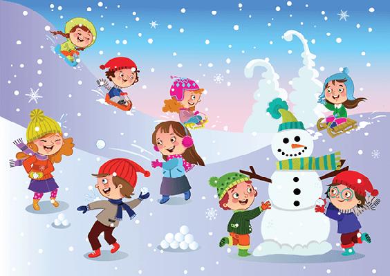 Winter clipart winter fun #1.