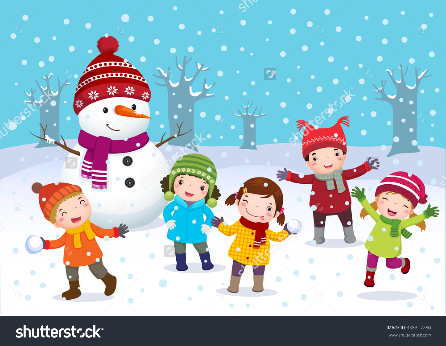 Winter Season Clipart Images.