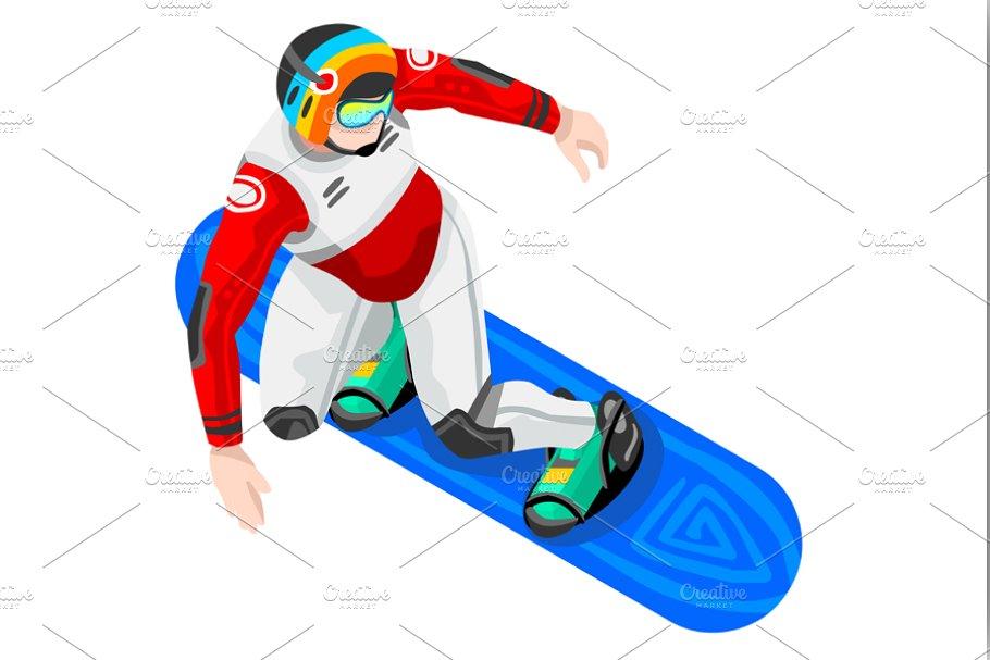 Snowboard Clipart Winter Sports.